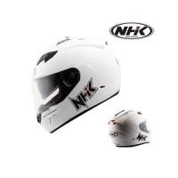 TERBARU Helm NHK GP1000 2 VISOR Solid MURAH