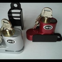 (Produk Baru!!) Kunci Gembok Pengaman Anti Maling Disc Cakram Motor