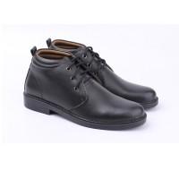 jual sepatu boot formal pria pdh pria sepatu pantofel model boot cate