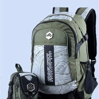 jual Tas Ransel Plus Tas Selempang Bodypack Brand GRSL Backpack Sekol
