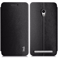 termurah Imak Flip Leather Cover Case Series for Asus Zenfone 6 Black