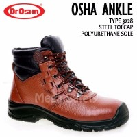 Dr Osha 3228 Osha Ankle Boot Sepatu Safety