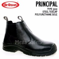 Dr Osha 3222 Principal Ankle Boot Sepatu Safety