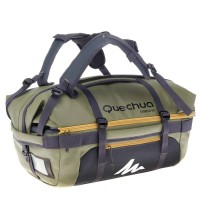 Tas Quechua 40-60L - Trekking Bag Multifungsi - Khaki - Original