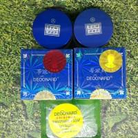 Paket Cream deoonard biru 7 days 25g day, night   Sabun Antiseptik