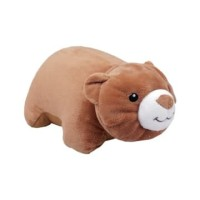 NECK REST ANIMAL RELASS FOLDED BEAR / BANTAL LEHER BERUANG
