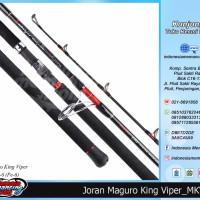 PREMIUM Joran Jigging MAGURO KING VIPER III PE 6 untuk Mancing Laut J
