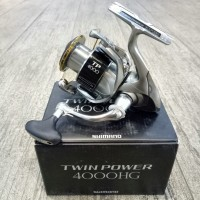 MODEL BARU Reel Pancing Shimano Twin Power 15 4000 HG 9 1 bb hobi pri