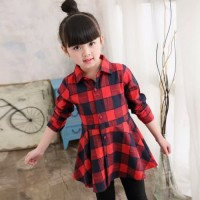 dress casual anak/dress anak/baju import anak