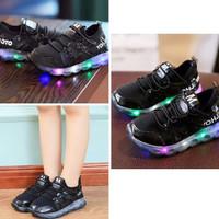 Sepatu Anak Lampu - Yamamoto Led Black