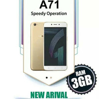 HP OPPO A71 New OPPO A71 4G LTE Ram 2/16GB Gold-black