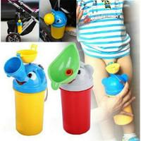 Urinal Potty Travel Pispot Portable Anak Tempat Pipis Wadah Urine Anak