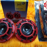 Klakson HELLA Supertone + Kabel Set Relay MX11