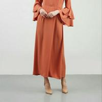Hijabenka - Caraminta Dress Terracota by Havva