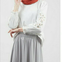 Hijabenka - Carrie Top White by Havva