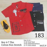 Baju kemeja korea anak laki kemeja import branded anak cowok 183