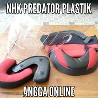 Busa Helm NHK PREDATOR plastik dan kaca helm NHK PREDATOR 2v