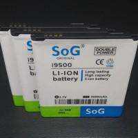 SoG Baterai Samsung S4 I9500-Mega5.8 i9152-Grand2 G7106 High Capacity