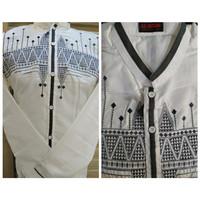 Baju Muslim Koko Al-Ihsan /Baju koko motif terbaru