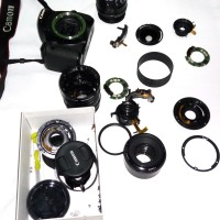 jasa service cleaning jamur & af auto fokus lensa canon