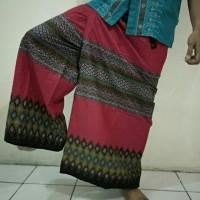 Celana Sarung Batik Pekalongan not wadimor, atlas, gajah duduk