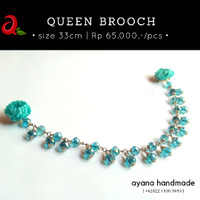 Queen Brooch by Ayana Handmade