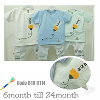 Baju Anak Cowok / Setelan Anak Bayi Lucu / Pakaian Anak Bayi Laki-Laki