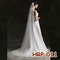 Slayer Pengantin Lace Panjang Bridal l Aksesoris Wedding - HRP 011