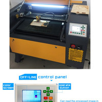 Mesin LASER GRAFIR CUTTING Acrylic 6040 Second
