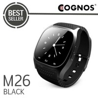 Promo Smartwatch Cognos M26 Black Bluetooth Limited