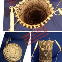 Jual Tas punggung anjat asli kulit rotan khas Dayak Murah