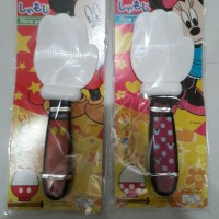 Alat Centong Nasi Antik Unik Karakter Tangan Mickey Minnie Japan Impor