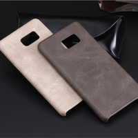 Original Usams Bob Series Slim Leather Softcase Samsung Galaxy Note FE