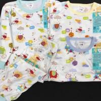 LIBBY Setelan Panjang S,M,L kecil (6-18 bulan) Pakaian Bayi Libby (1)