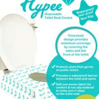 Hypee - Disposable Toilet Seat Covers (isi 5pcs)