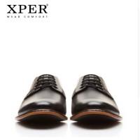 Harga original xper brand men formal shoes lace up male sepatu pria   antitipu.com
