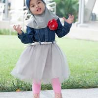 jeans overall balita/dress balita/baju anak perempuan