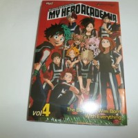 Komik  My Hero Academia 4 - segel