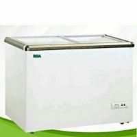 RSA XS-200 Sliding Flat Glass Freezer [171 Liter]