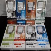 NEW ! Charger LED Indicator Merk HP 2.0A Advan Asus Lenovo Oppo Sams