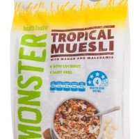 Sereal Monster Tropical Muesli 700g