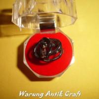 Cincin Ring AKAR BAHAR HITAM Akik Alami Super Laris in Antik Craft