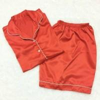 baju wanita Piyama saten TERBARU