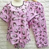 baju wanita RESTOk piyama katun jepang lokal TERBARU