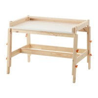 IKEA FLISAT Meja Belajar Kayu Anak Adjustable Wooden Children Desk