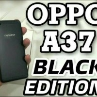 New Hp Oppo A37 Ram 2 16Gb Internal A37f Black Limited Edition Hitam