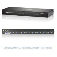 ATEN VS0801A - 8 Port VGA Switch with Remote Control