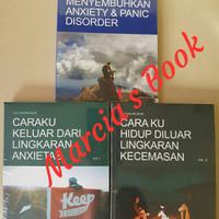 Buku Anxiety LENGKAP erikwibowo, 3 SERIES buku ke 1, 2 dan 3