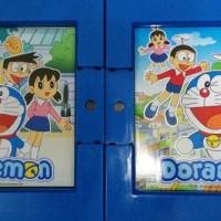 Lemari Plastik 3 Susun Kunci PREMIUM Naiba Doraemon Minnie