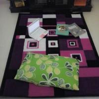TERBARU Karpet Lantai Minimalis PP Rugs Modern 09 Ukuran 115 x 155cm